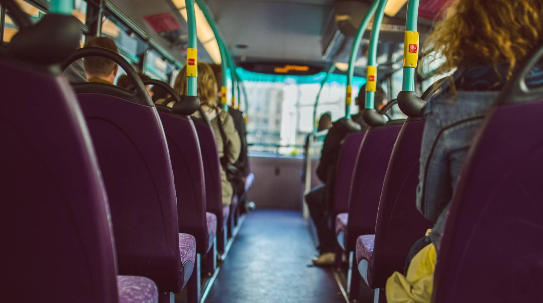 Uso del transporte público