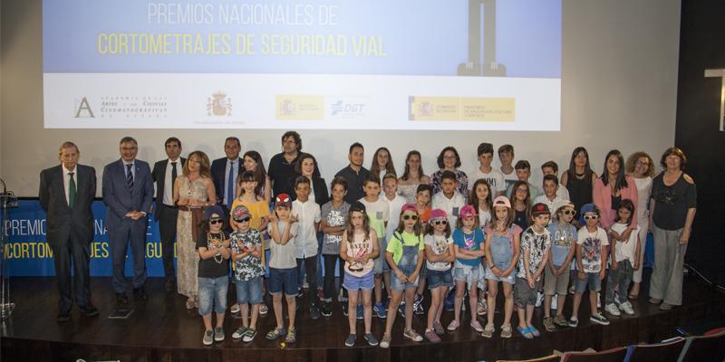 ENTREGA DE PREMIOS DE LA VI EDICIÓN DE CORTOMETRAJES DE SEGURIDAD VIAL DE RACE Y Goodyear
